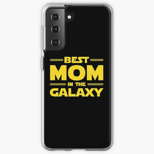 Best Mom in The Galaxy Relaxed Fit T-Shirt Samsung Galaxy Soft Case
