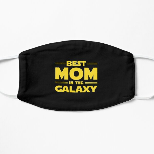 Best Mom in The Galaxy Relaxed Fit T-Shirt Flat Mask