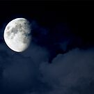 moon view by Cheryl Dunning