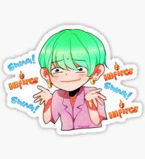 BTS SUGA INFIRES SWAG Sticker