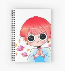 BTS V GALAXY Spiral Notebook