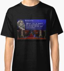 Castlevania - Miserable little pile of secrets Classic T-Shirt