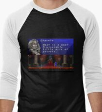 Castlevania - Miserable little pile of secrets Men's Baseball ¾ T-Shirt