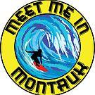MEET ME IN MONTAUK Surfing MONTAUK NEW YORK Surf Surfboard Waves LONG ISLAND by MyHandmadeSigns