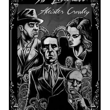 HP Lovecraft vs Aleister Crowley by MontyBorror