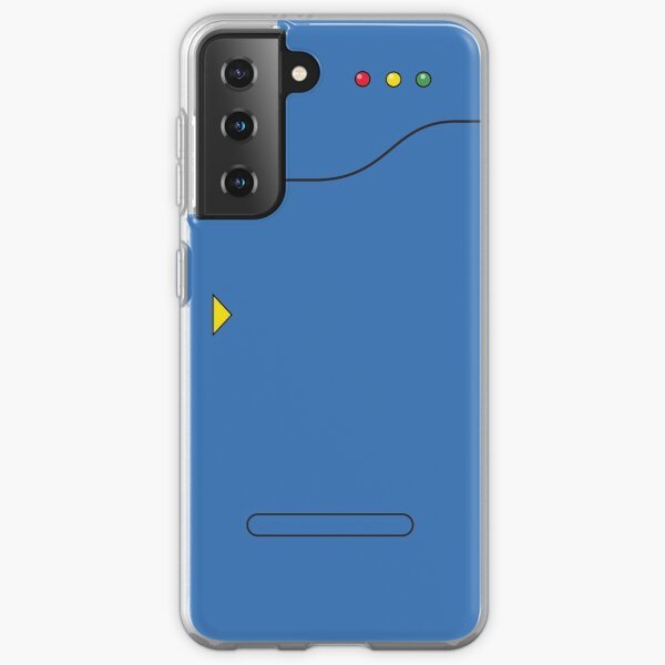Pokedex - Bleu Coque souple Samsung Galaxy