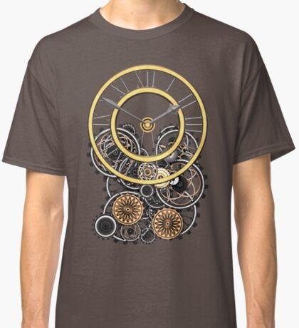 Stylish Vintage Steampunk Timepiece Steampunk T-Shirts Classic T-Shirt