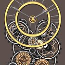 Stylish Vintage Steampunk Timepiece Steampunk T-Shirts by Steve Crompton