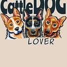 Australian Cattle Dog Lover by offleashart