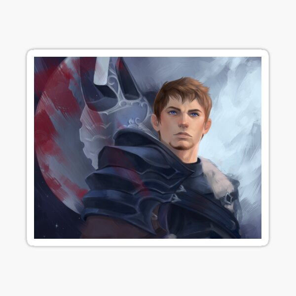 Warrior of Darkness and Light Sticker