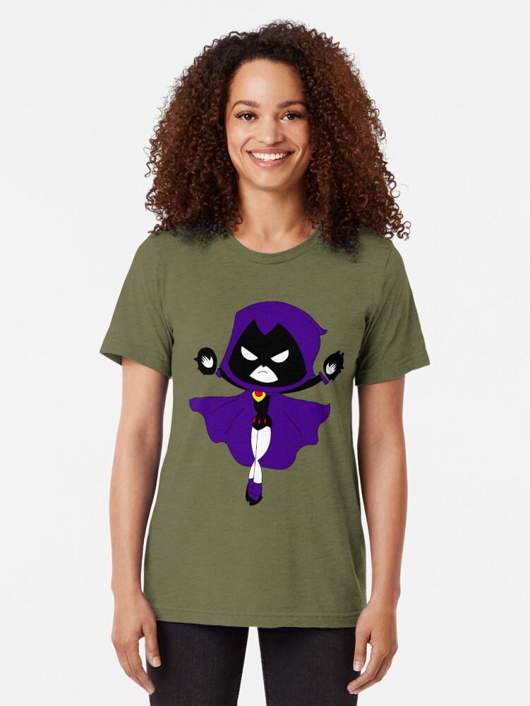 Alternative Ansicht von Rabe der Teen Titan Vintage T-Shirt