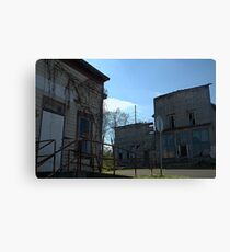 Ghost Town in Ohio. Canvas Print