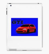 Volkswagen Golf GTI iPad Case/Skin