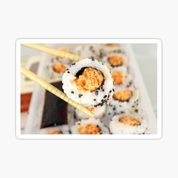 Let Me See That Sushi Roll! Sticker