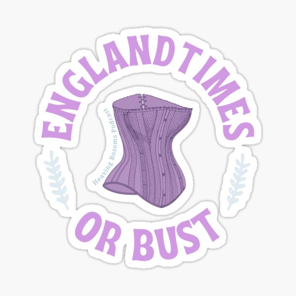 Englandtimes or Bust Sticker