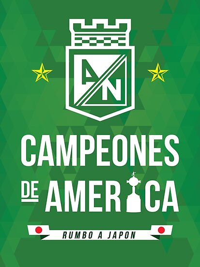 U0026quot Atletico Nacional U0026quot Poster By Mqdesigns13 Redbubble