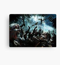 Zombie Apocalypse 2016 New Designs Art Canvas Print