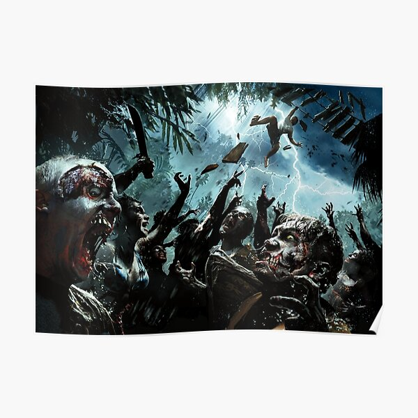 Zombie Apocalypse 2016 Nouveau Designs Art Poster