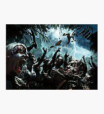 Zombie Apocalypse 2016 New Designs Art Photographic Print