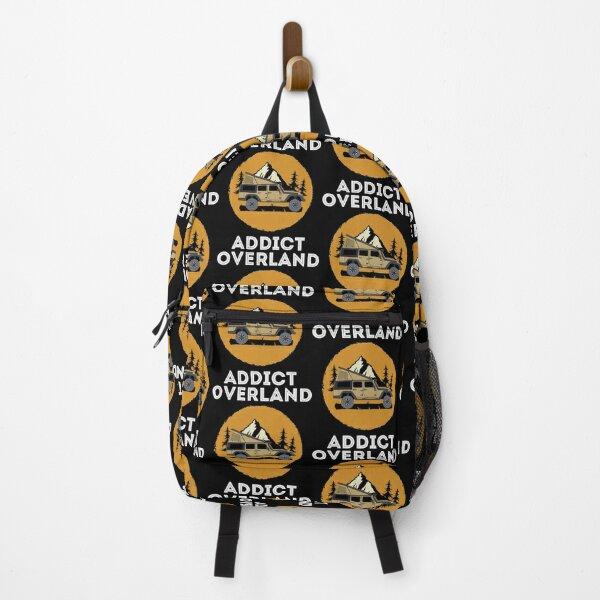 Overland Addict Camping Lover Overlanding print Backpack