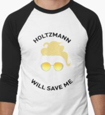 Ghostbusters: Knight in Shining Goggles (Black Text) Men's Baseball ¾ T-Shirt