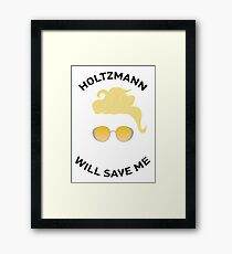 Ghostbusters: Knight in Shining Goggles (Black Text) Framed Print