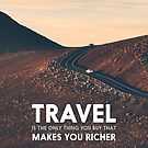 Travel makes you richer by POP Collective