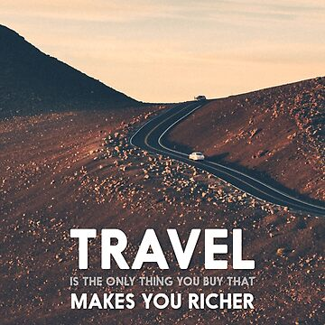 Travel makes you richer by popcollective