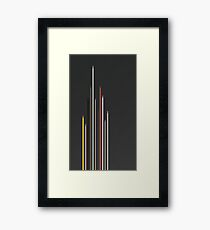F1 2016 Minimalist Vertical Framed Print