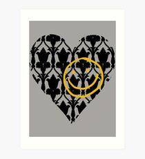 I love Sherlock Art Print