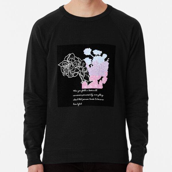 Floral Demi-bisexual Lightweight Sweatshirt