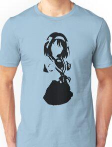 Suzumiya Haruhi no Yuuutsu - Suzumiya Haruhi Minimalist (Black Edition) Unisex T-Shirt