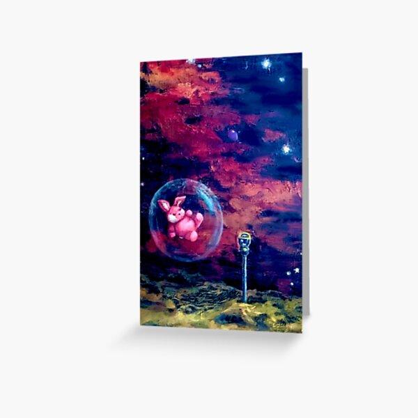 Intergalactic Bun Bun 1.2 Greeting Card
