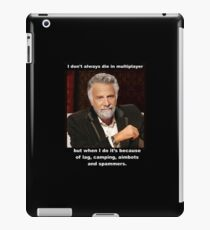 Multiplayer Woes iPad Case/Skin