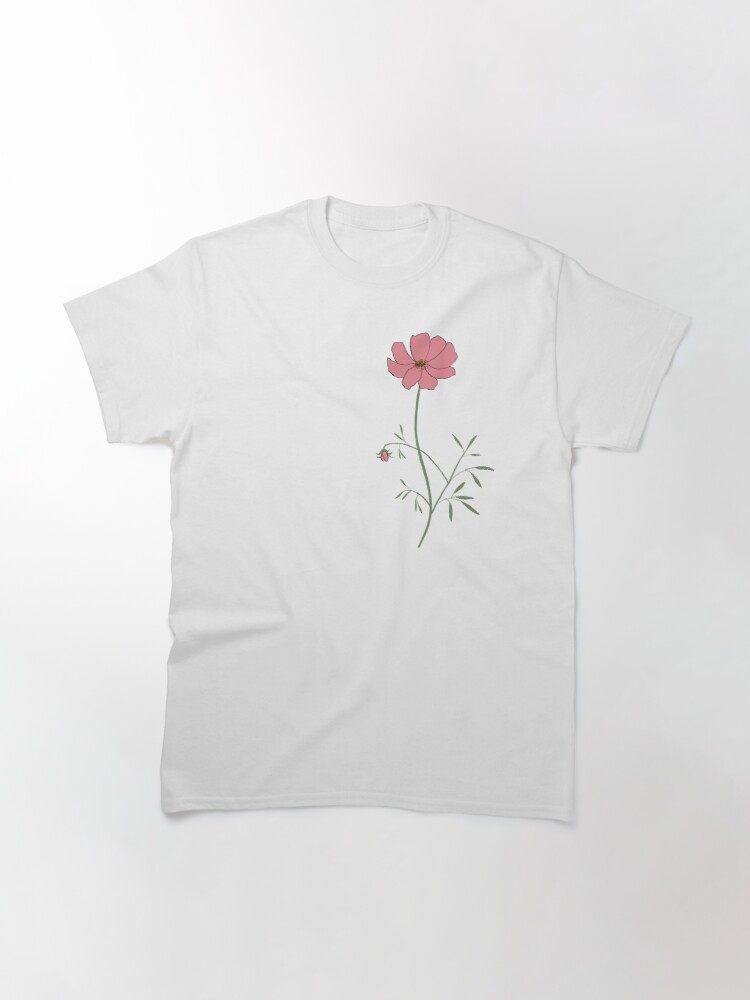 Alternate view of A Pink Flower Classic T-Shirt