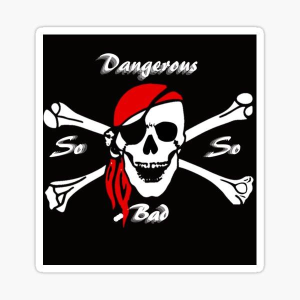 Beware pirates Sticker