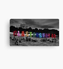Happy Birthday Glastonbury Canvas Print