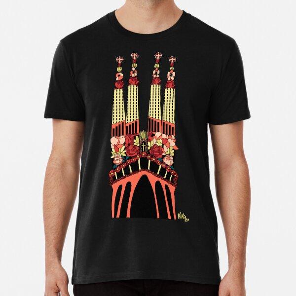 Sagrada Familia Camiseta premium