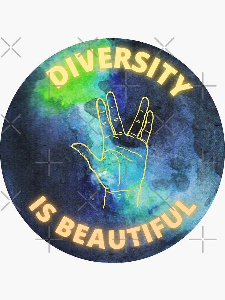 Diversity is Beautiful by ArtMystSoul
