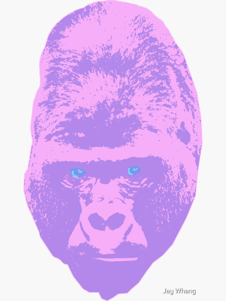 Gorilla Head (from my short film Black Fox) by Jay-Whang-Arts
