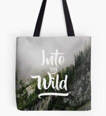 Into The Wild Tote Bag