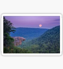 Whitaker Point in the Ozark Mountains, Arkansas. Sticker