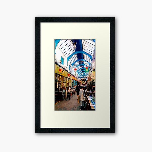 Inside Brixton Village Market Framed Art Print