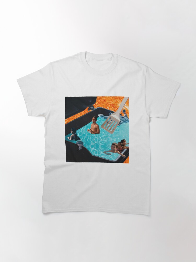 Alternate view of Warm Swimming Pool of Summer (Collage Art) Classic T-Shirt