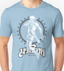 muay thai skull thailand martial art sport power kick impact T-Shirt