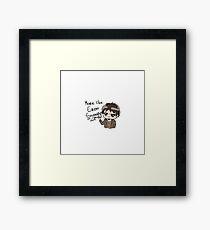 Eren Swagger Framed Print