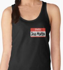 The Princess Bride Quote - Hello My Name Is Inigo Montoya Women's Tank Top