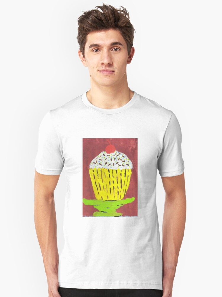 Cupcake Unisex T-Shirt Front