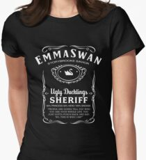 Emma Swan Whiskey Womens Fitted T-Shirt