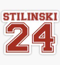 Teen Wolf- Stilinski's Jersey  Sticker